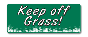 GHM605 Keep off Grass