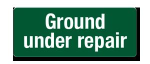 HGHM025 Ground under repair