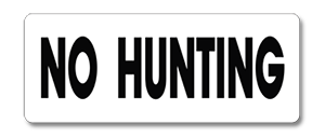 WHM001 No Hunting