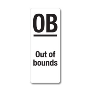 WVM020 Out of bounds